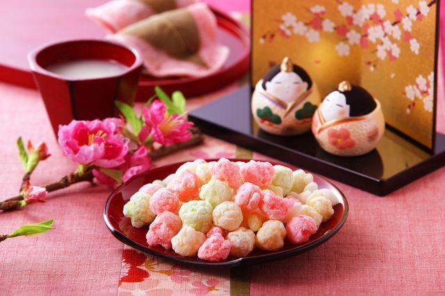 ひな祭り桃の花