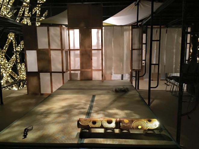 わーと日本橋 空中竹茶室