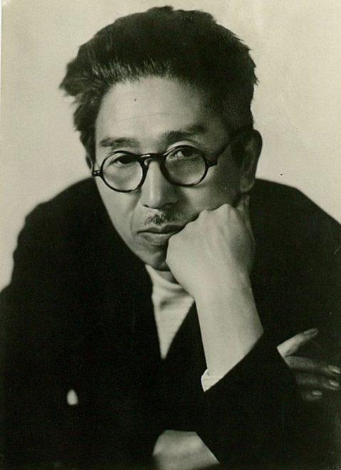 頬杖をつく夢二(昭和初期) (581x800)