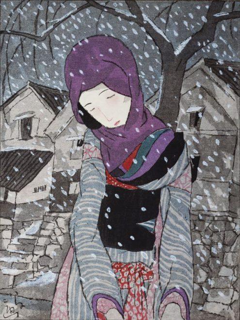 ⑦雪の夜の伝説 大正15年