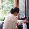 簡単に色んな着物や振袖・黒留袖などが試着できる!?東京キモノショーでバーチャル着物フィッティングを体験!