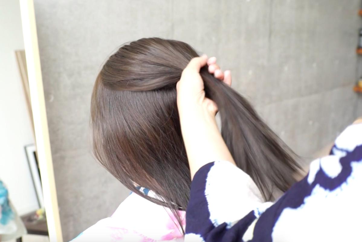夏の浴衣ヘアは まとめ髪 や ヘアアクセサリー で印象アップ 簡単