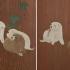 円山応挙が描いたコロコロでモフモフの犬たち「朝顔狗子図杉戸」が東京国立博物館で見られる♡
